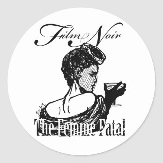 Femme Fatal Stickers