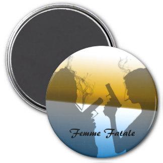 Femme Fatale - Double Trouble Magnet