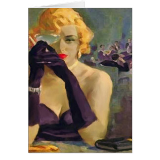 Femme Fatale ~ Greeting and Note Cards