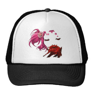 femme fatale trucker hat