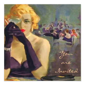 Femme Fatale ~ Invitations