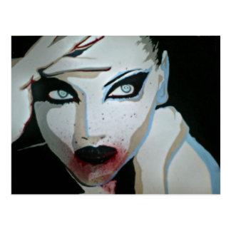 'Femme Fatale'  Postcard