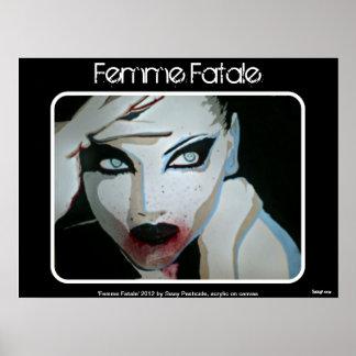'Femme Fatale' Poster