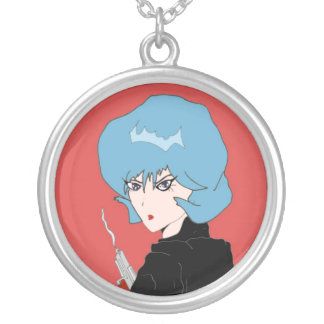 Femme Fatale Silver Plated Necklace