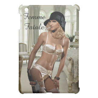 Femme Fatale - Smoking and Guns Cover For The iPad Mini