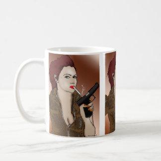 Femme Fatale - Smoking and Guns Mug