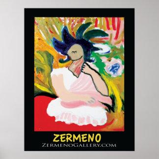 Femme Fauve por Zermeno sin marco Poster