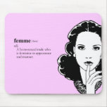 FEMME gay Mouse Pad