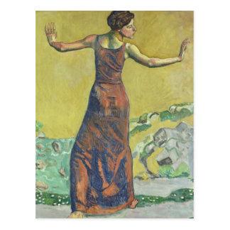 Femme Joyeuse Postcard