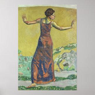 Femme Joyeuse Poster