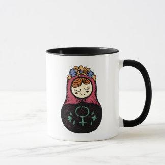 Femme Matryoshka Mug