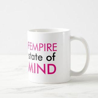 Fempire state of mind mug