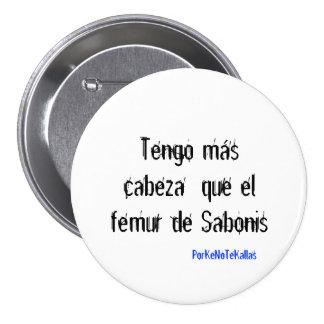 Fémur de Sabonis, cerdo del EL del que del cabeza  Pin