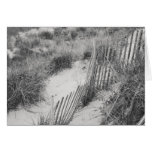 """""""Fence and Dunes"""" collection Greeting Card"""