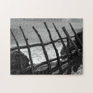 Fence and ocean puzzle