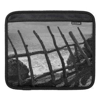 Fence and ocean sleeve for iPads