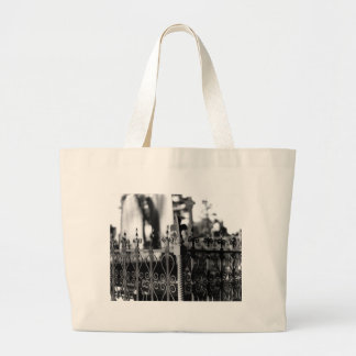 fence tote bags