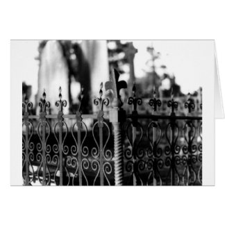 fence greeting cards