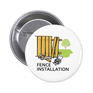 FENCE INSTALLATION 2 INCH ROUND BUTTON