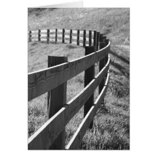 Fence Line Card