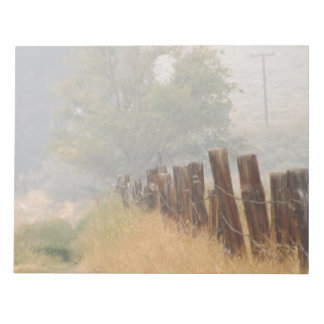 Fence Line Notepad