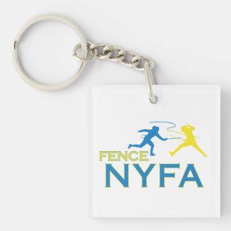 Fence NYFA Keychain double-sided w/logo