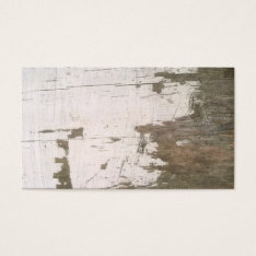 Fence Old Weathered Wood Barn Business Cards at Zazzle