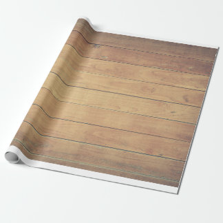 Fence panel wood shed design pale pine wrapping paper