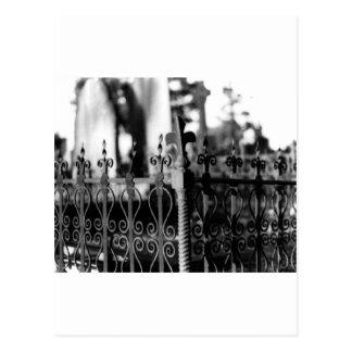 fence postcard