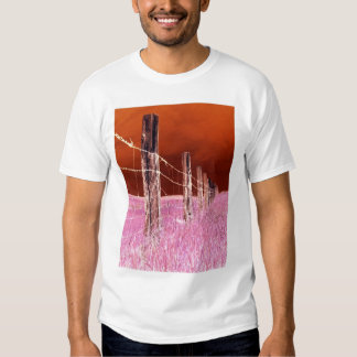 Fence (Red) T-Shirt