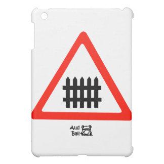 Fence Road Sign iPad Mini Case