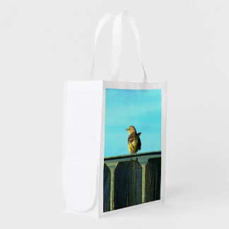 Fence Sitter Grocery Bags