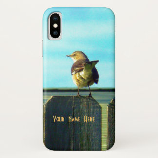 Fence Sitter iPhone X Case