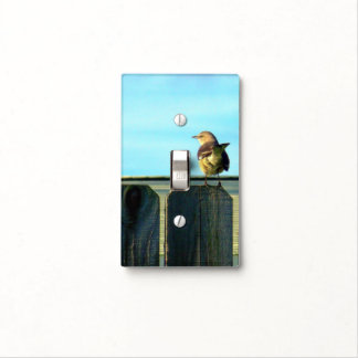 Fence Sitter Light Switch Cover