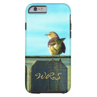 Fence Sitter Monogrammed Tough iPhone 6 Case