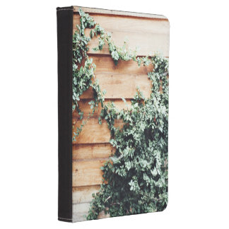 Fence Themed, Green Ivy Grow And Covering Wooden H Kindle Cover