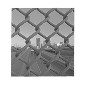 Fenced in City Memo Notepads