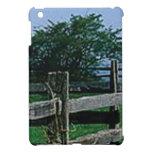 fenced tree art cover for the iPad mini