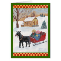 Fencepost Folks Christmas Card