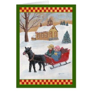 Fencepost Folks Christmas Greeting Card