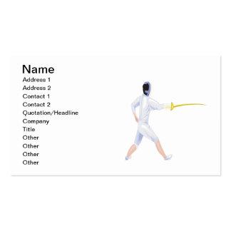 Fencer 2 business card