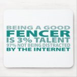 Fencer 3% Talent Mouse Pad