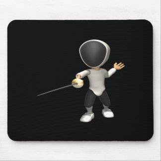 Fencer Mouse Pad