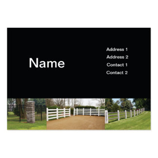 fences large business cards (Pack of 100)