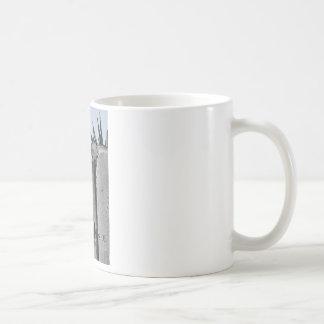 Fences dont give us freedom coffee mug