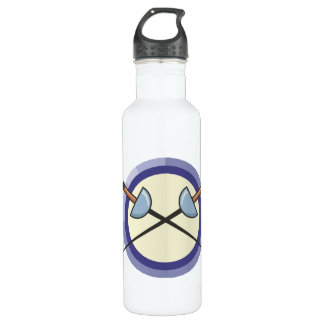 Fencing 5 stainless steel water bottle