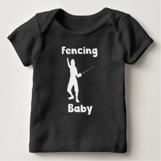 Fencing Baby Tee Shirts