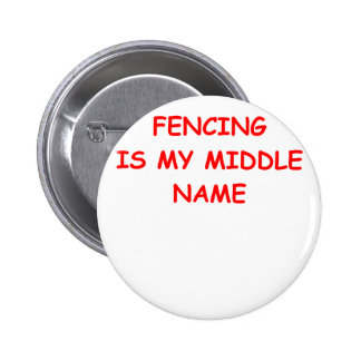 fencing pin