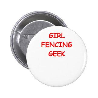 fencing pin