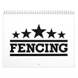 Fencing Calendar